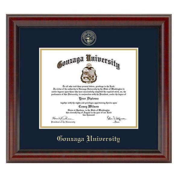 Gonzaga Diploma Frame, the Fidelitas