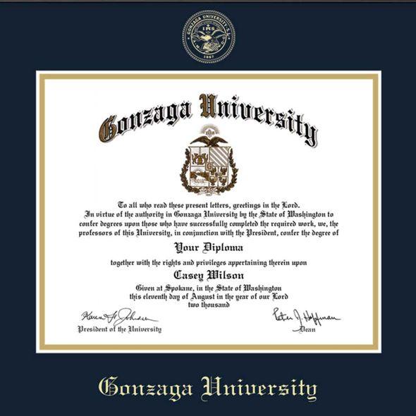 Gonzaga Diploma Frame, the Fidelitas - Image 2