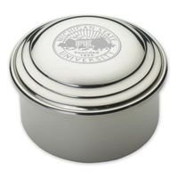 Michigan State Pewter Keepsake Box