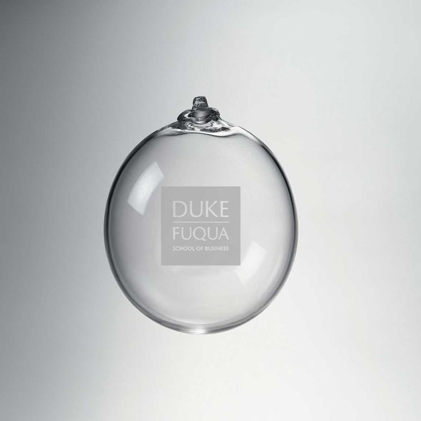 Duke Fuqua Glass Ornament by Simon Pearce