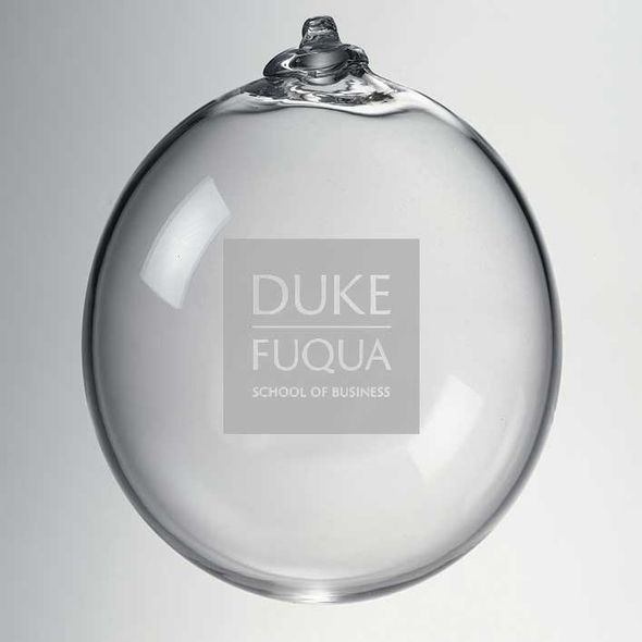 Duke Fuqua Glass Ornament by Simon Pearce - Image 2