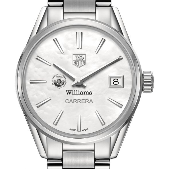 Williams College Women's TAG Heuer Steel Carrera with MOP Dial - Image 1