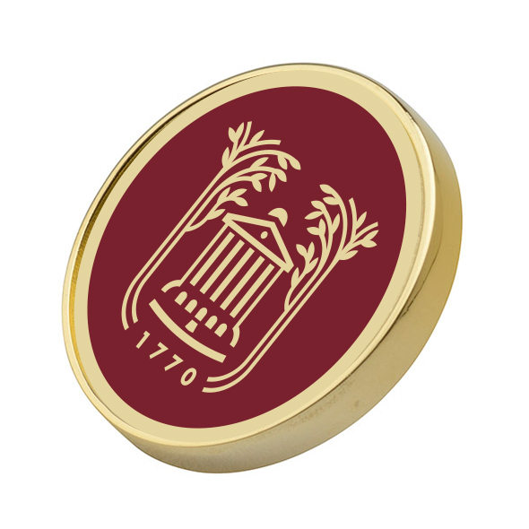 College of Charleston Enamel Lapel Pin - Image 1