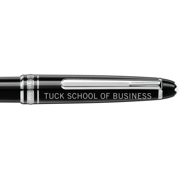 Tuck Montblanc Meisterstück Classique Ballpoint Pen in Platinum - Image 2