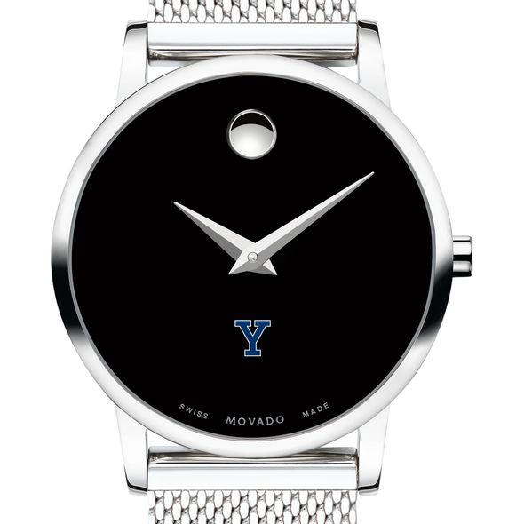 Yale University Women's Movado Museum with Mesh Bracelet - Image 1