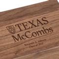 Texas McCombs Solid Walnut Desk Box - Image 3