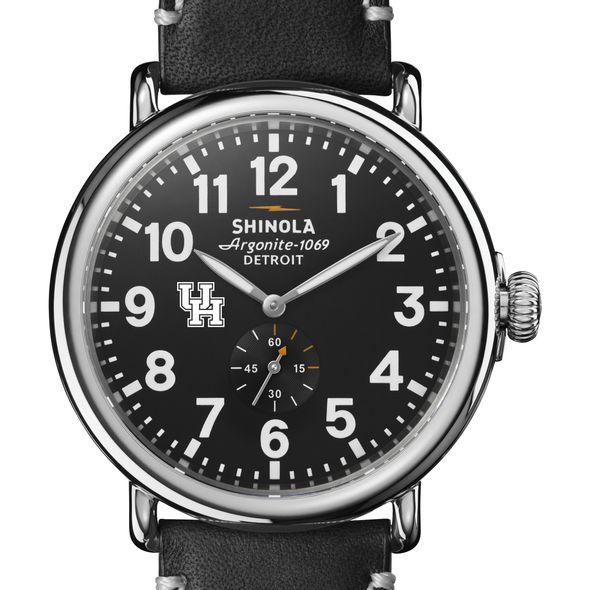 Houston Shinola Watch, The Runwell 47mm Black Dial - Image 1