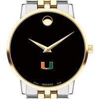 Miami Men's Movado Two-Tone Museum Classic Bracelet
