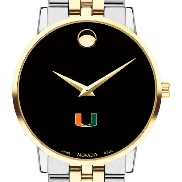 Miami Men's Movado Two-Tone Museum Classic Bracelet - Image 1