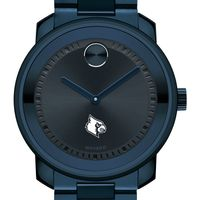 University of Louisville Men's Movado BOLD Blue Ion with Bracelet