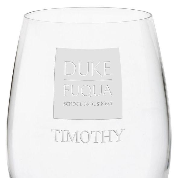 Duke Fuqua Red Wine Glasses - Set of 2 - Image 3