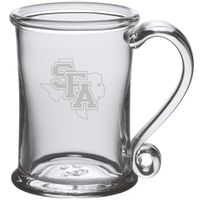 SFASU Glass Tankard by Simon Pearce