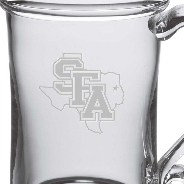 SFASU Glass Tankard by Simon Pearce - Image 2