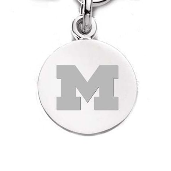 Michigan Sterling Silver Charm - Image 1