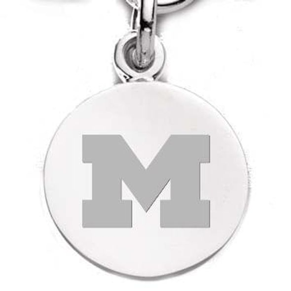 Michigan Sterling Silver Charm - Image 2