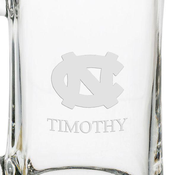 UNC 25 oz Glass Stein - Image 3