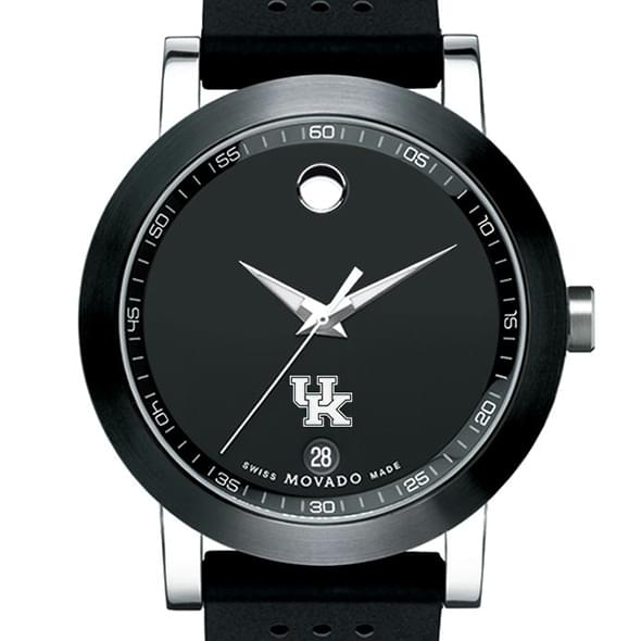 Kentucky Men's Movado Museum Sport Rubber Strap