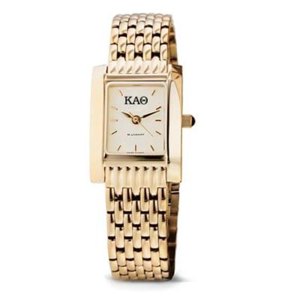 KAT Women's Gold Quad Watch with Bracelet
