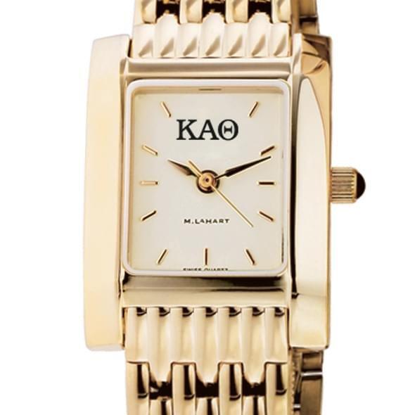 KAT Women's Gold Quad Watch with Bracelet - Image 2