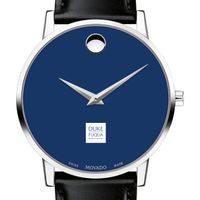 The Fuqua School of Business Men's Movado Museum with Blue Dial & Leather Strap