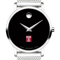 Temple University Women's Movado Museum with Mesh Bracelet