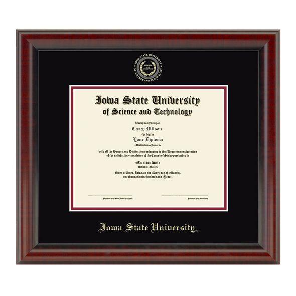 Iowa State University Masters Diploma Frame, the Fidelitas