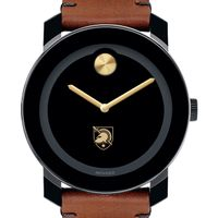 US Military Academy Men's Movado BOLD with Brown Leather Strap