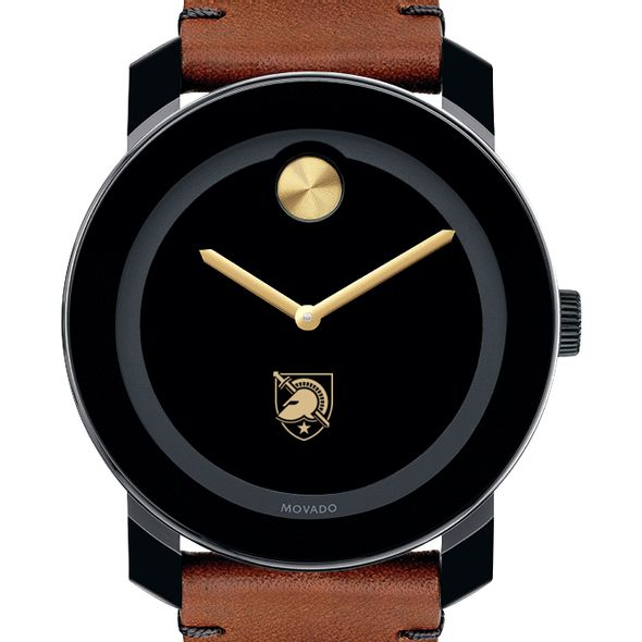 US Military Academy Men's Movado BOLD with Brown Leather Strap - Image 1