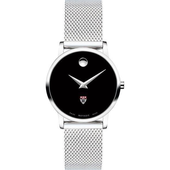 Harvard Business School Women's Movado Museum with Mesh Bracelet - Image 2