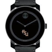 Florida State University Men's Movado BOLD with Leather Strap