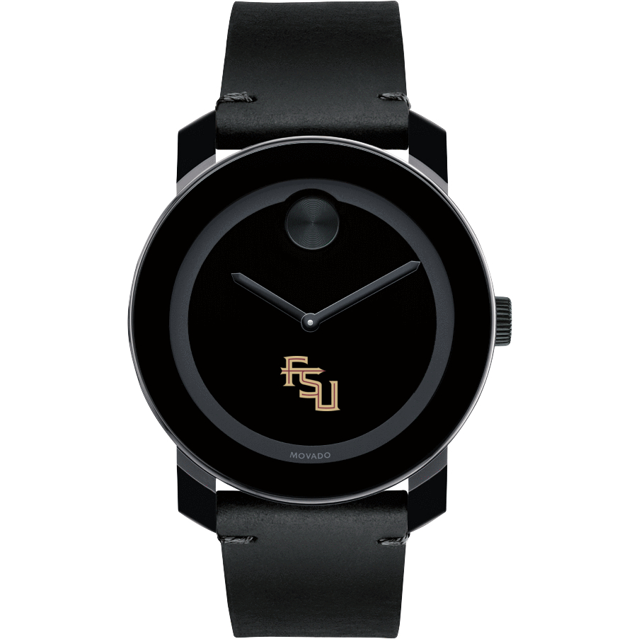 Florida State Men's Movado BOLD with Leather Strap - Image 2