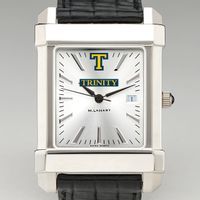 Trinity College Men's Collegiate Watch with Leather Strap