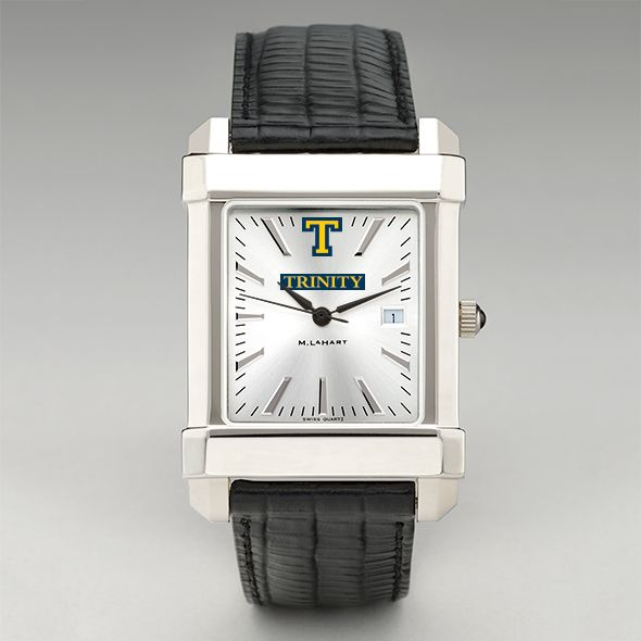 Trinity College Men's Collegiate Watch with Leather Strap - Image 2