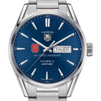 North Carolina State Men's TAG Heuer Carrera with Day-Date