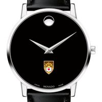 Lehigh Men's Movado Museum with Leather Strap