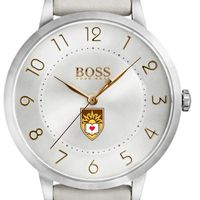 Lehigh University Women's BOSS White Leather from M.LaHart
