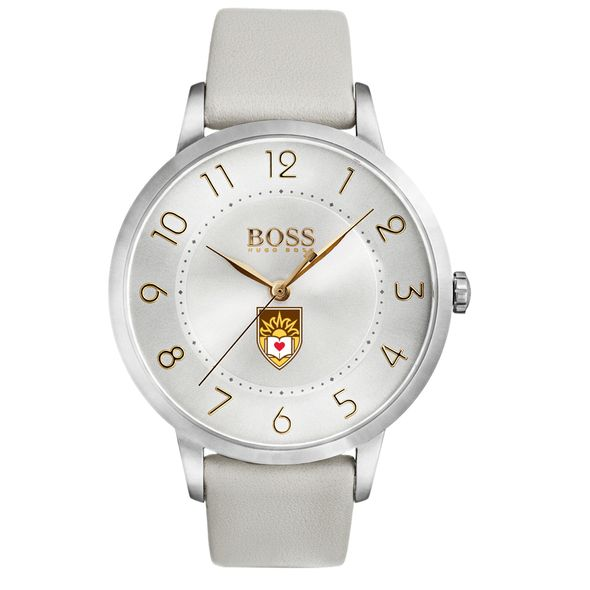 Lehigh University Women's BOSS White Leather from M.LaHart - Image 2