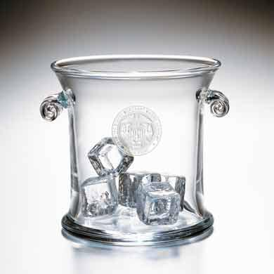 USMMA Glass Ice Bucket by Simon Pearce