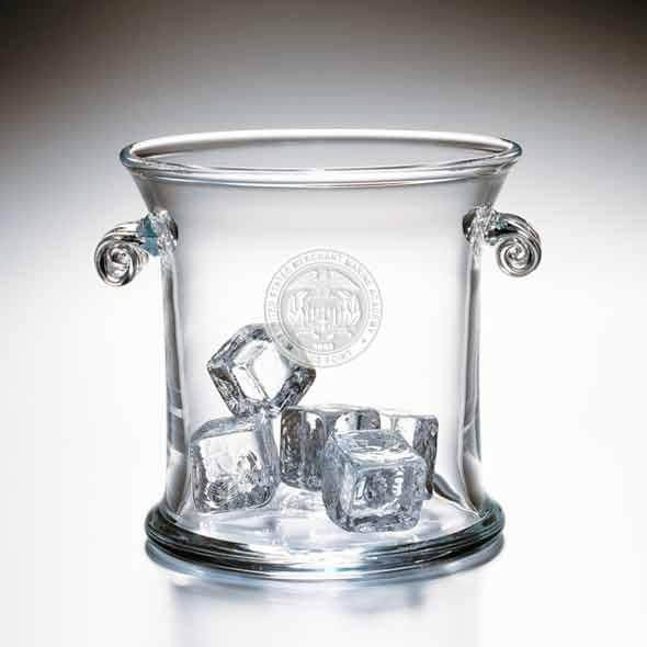 USMMA Glass Ice Bucket by Simon Pearce - Image 2