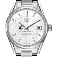 Washington State University Women's TAG Heuer Steel Carrera with MOP Dial