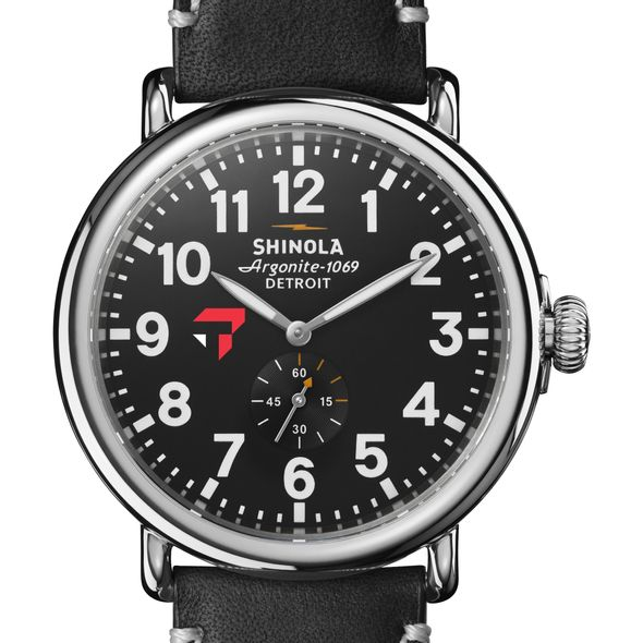 Tepper Shinola Watch, The Runwell 47mm Black Dial - Image 1