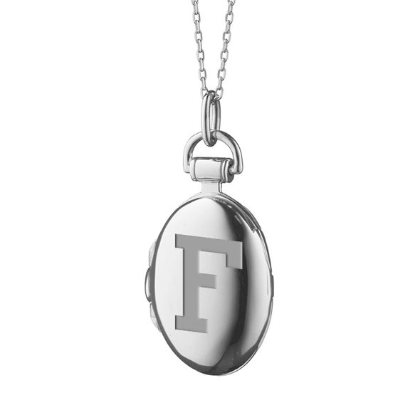 Fordham Monica Rich Kosann Petite Locket in Silver - Image 2