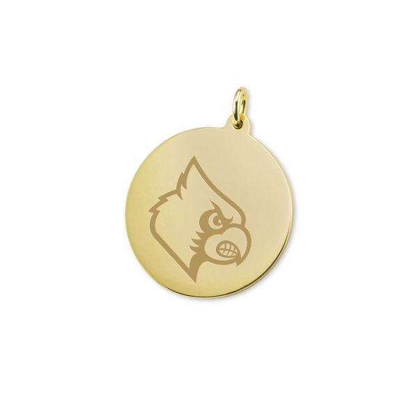 University of Louisville 18K Gold Charm