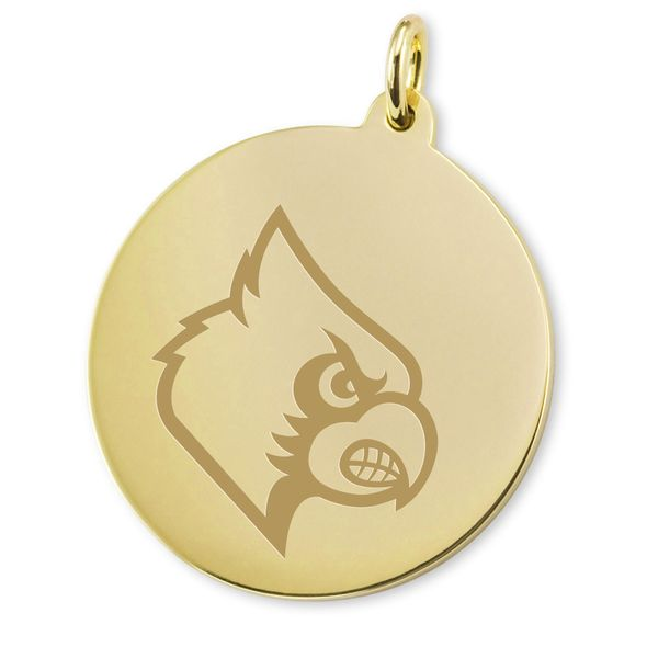 University of Louisville 18K Gold Charm - Image 2