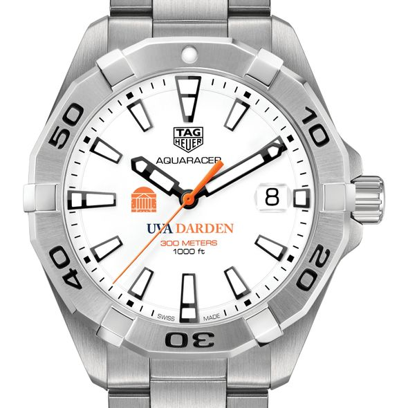UVA Darden Men's TAG Heuer Steel Aquaracer