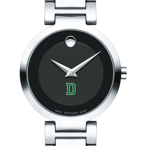 Dartmouth College Women's Movado Museum with Steel Bracelet - Image 1