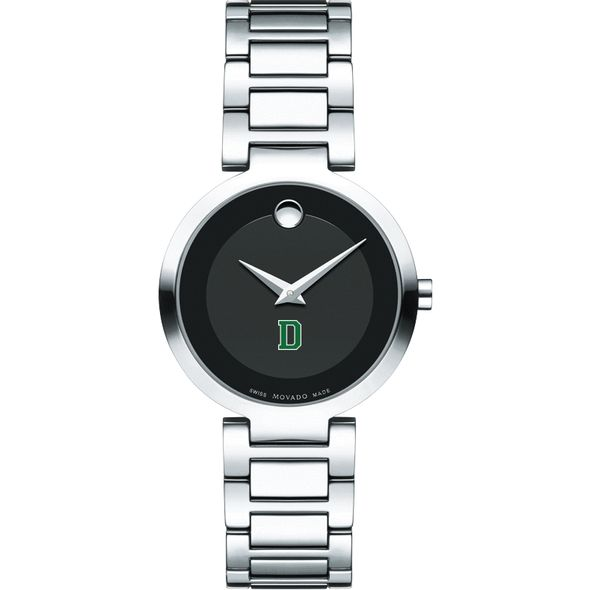 Dartmouth College Women's Movado Museum with Steel Bracelet - Image 2