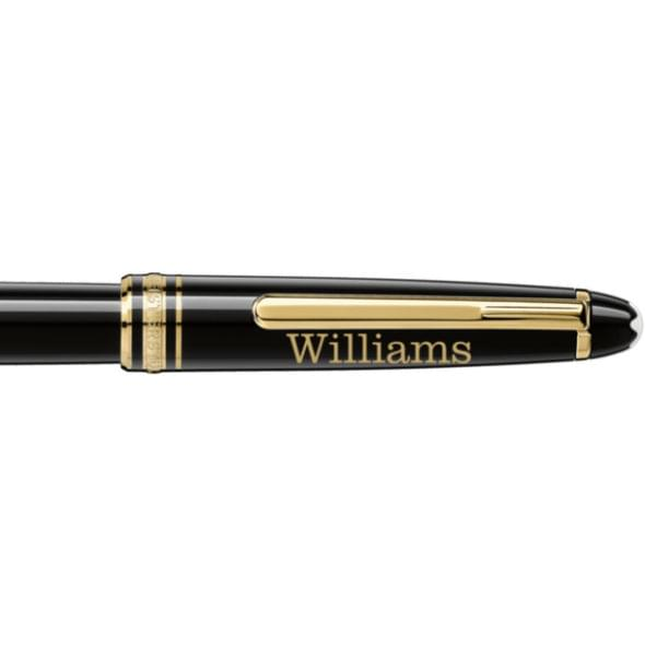 Williams College Montblanc Meisterstück Classique Rollerball Pen in Gold - Image 2