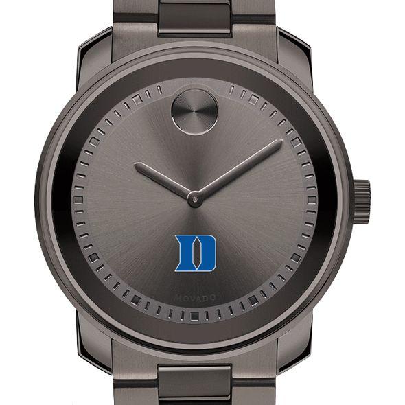 Duke University Men's Movado BOLD Gunmetal Grey