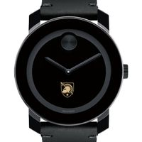 US Military Academy Men's Movado BOLD with Leather Strap